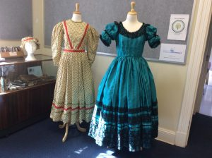 1830s day dress and evening dress